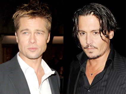 Brad Pitt and Johnny Depp. So, what I am about to write can hardly be ...